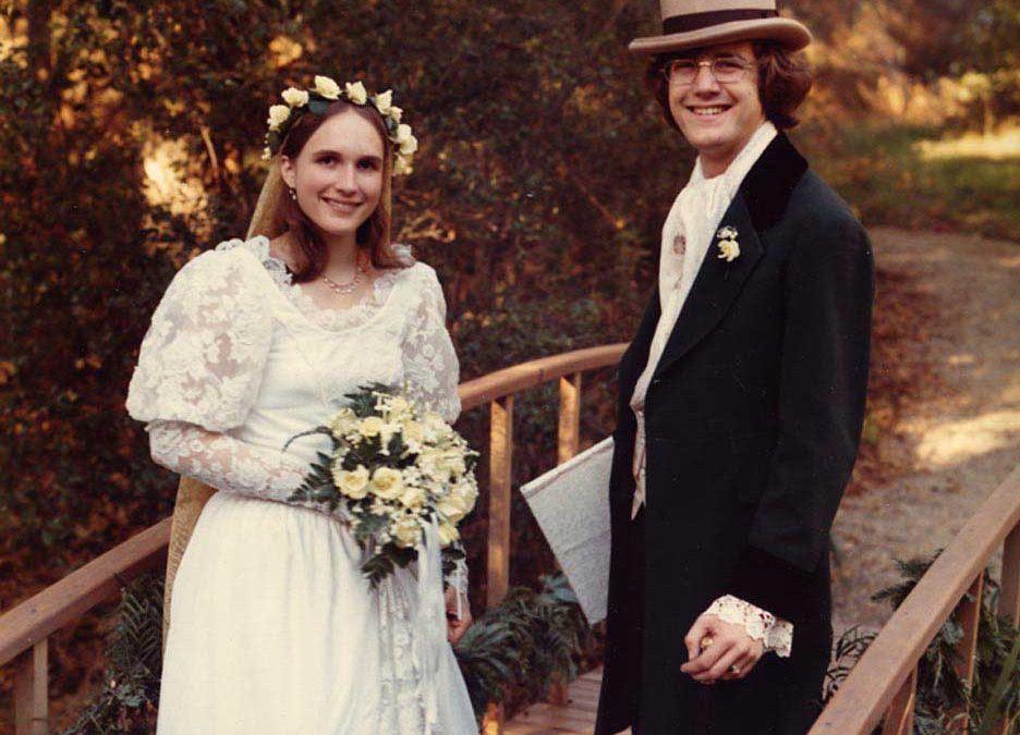 December 20: married Helene in wild oak meadow in Ojai