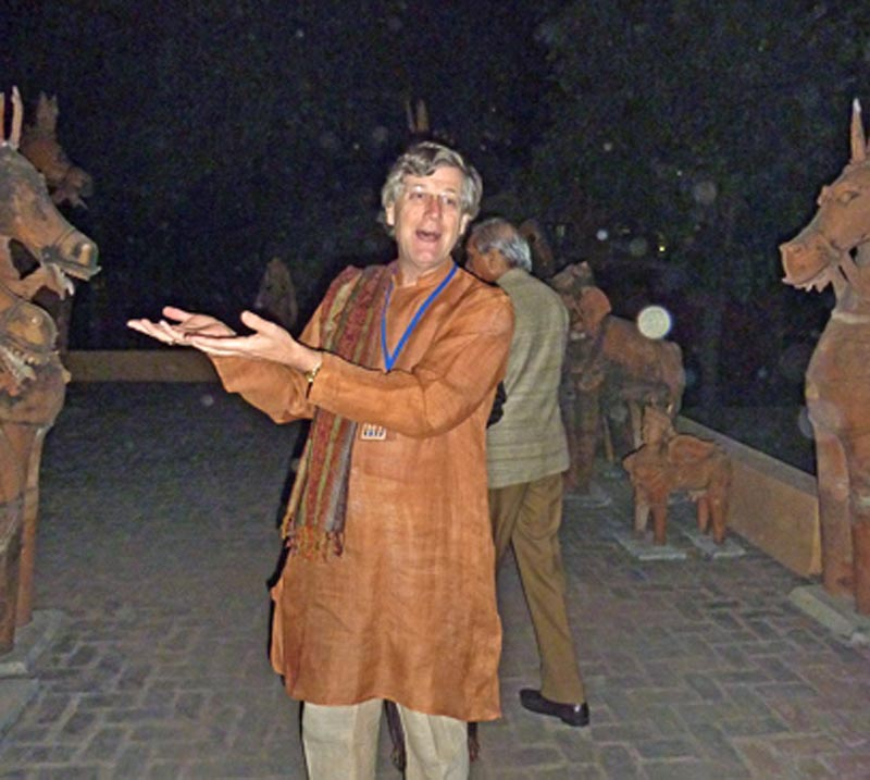Led first tour of India for the Smithsonian Associates