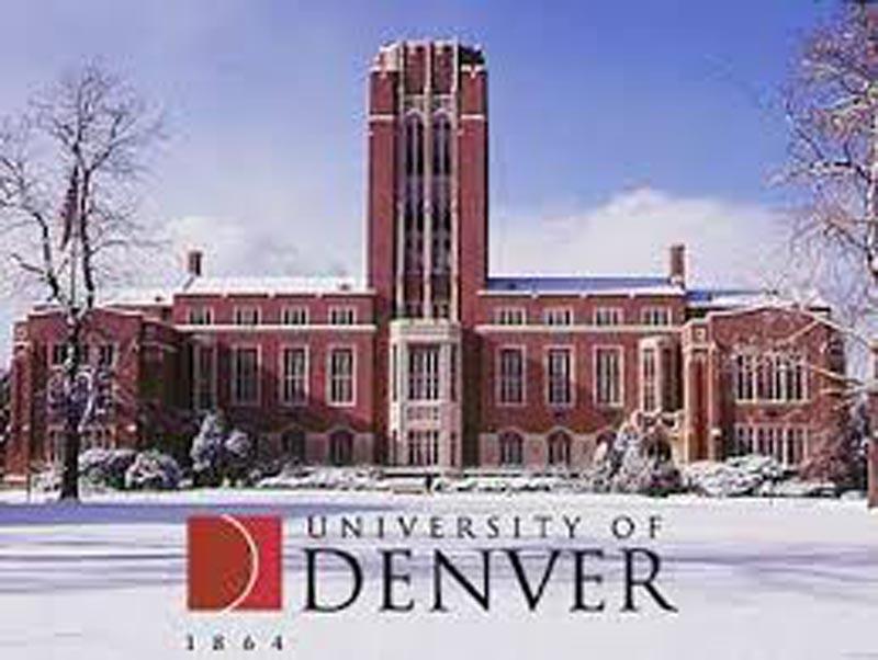 Undergraduate at the University of Denver.