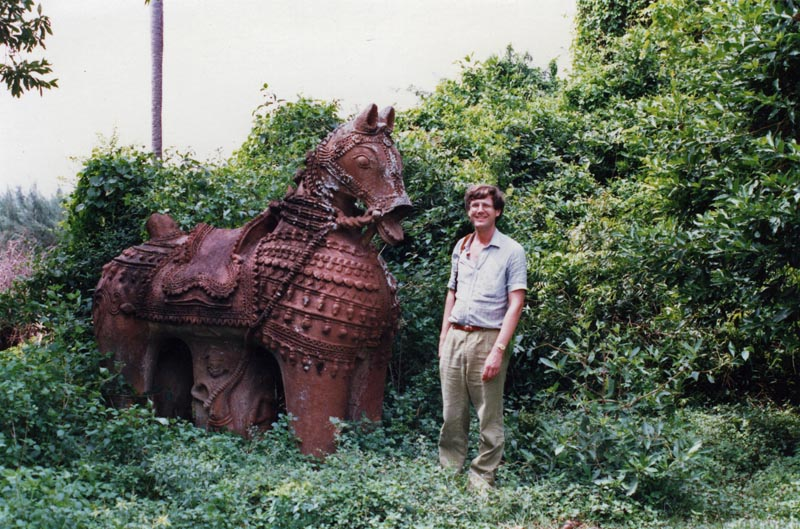 Conducting field research on Indian terracottas