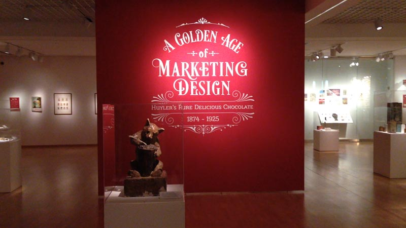 Exhibition: Huyler's Pure Delicious Chocolate 1874-1925: A Golden Age of Marketing Design