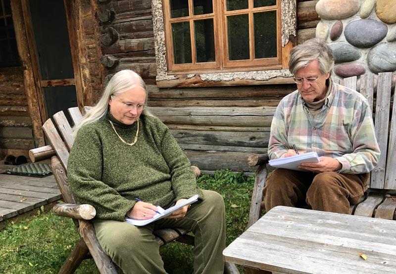 Coauthoring with Helene Huyler