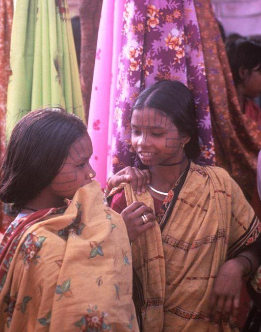 Six month circle tour of India with Helene studying adivasis